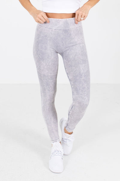 Lavender Purple Cute and Comfortable Boutique Active Leggings for Women