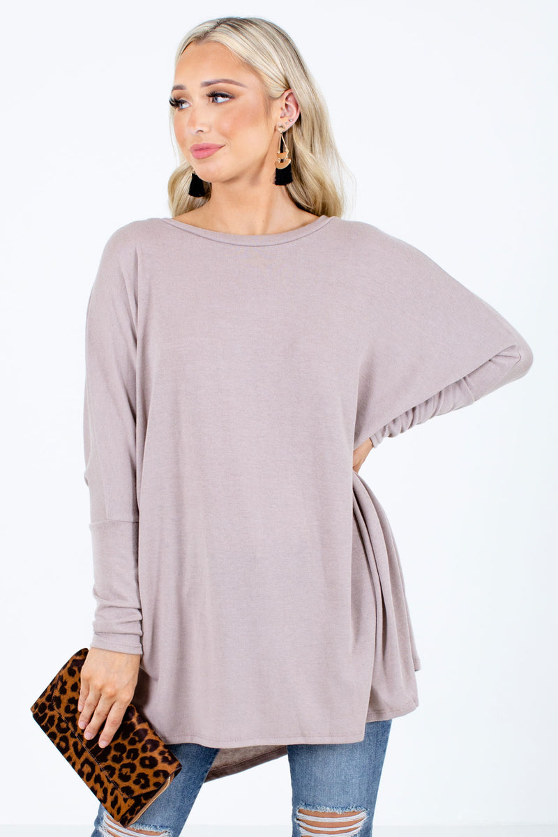 Let's Be Comfy Long Sleeve Top