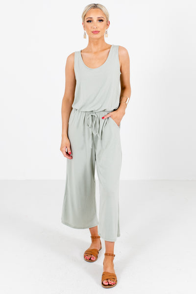 Green Cute and Comfortable Boutique Jumpsuits for Women