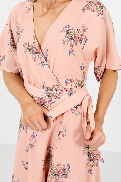 Peach Pink Affordable Online Boutique Clothing for Women