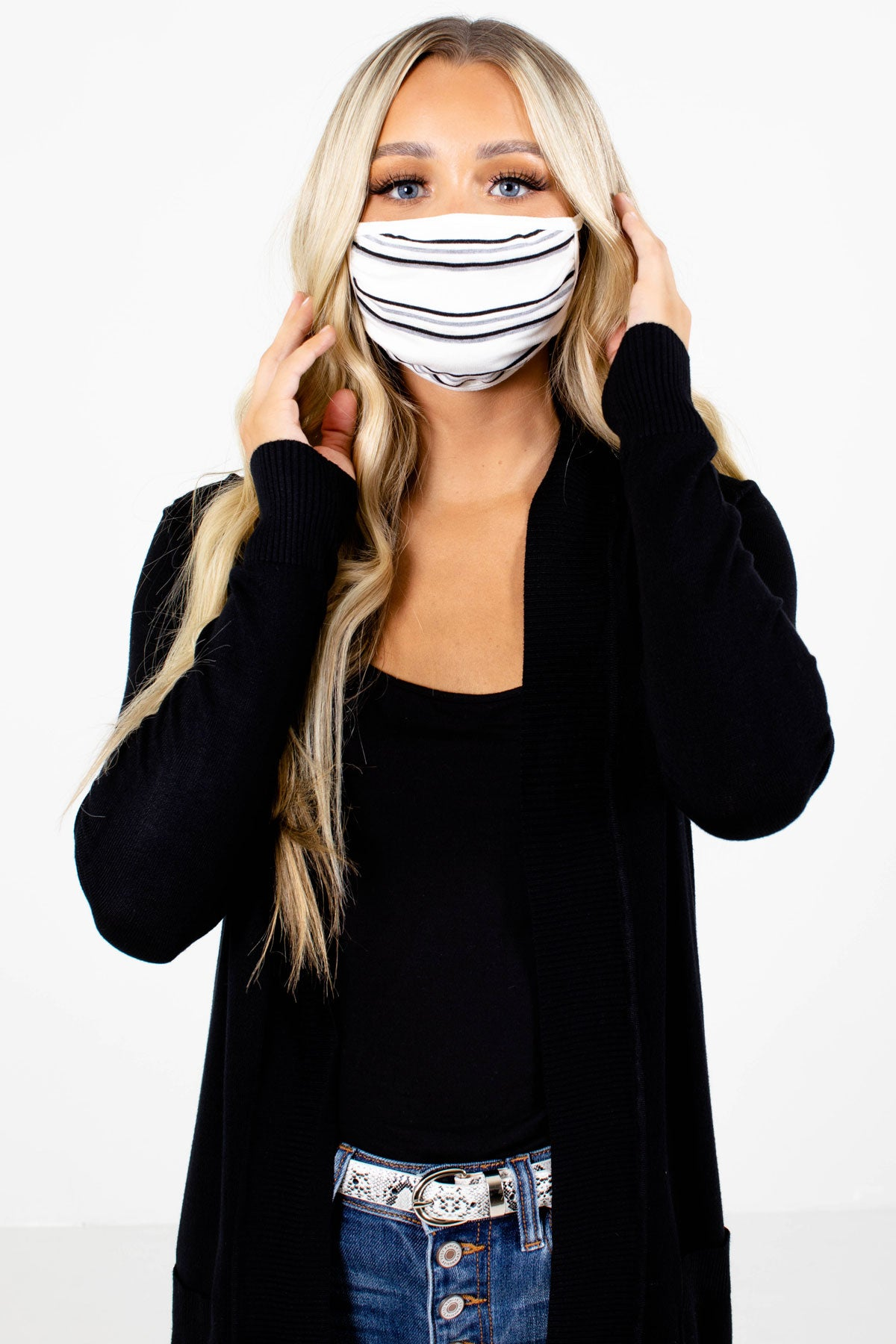 Make an Impact Striped Reusable Face Masks