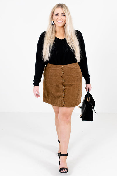 Women's Brown Fall and Winter Boutique Clothing for Women