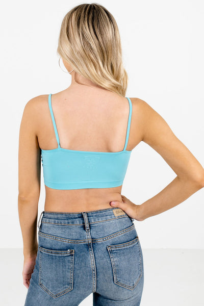 Women's Blue High-Quality Boutique Bralette