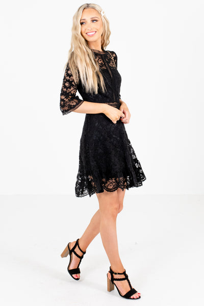 Women's Black Night Out Boutique Mini Dress