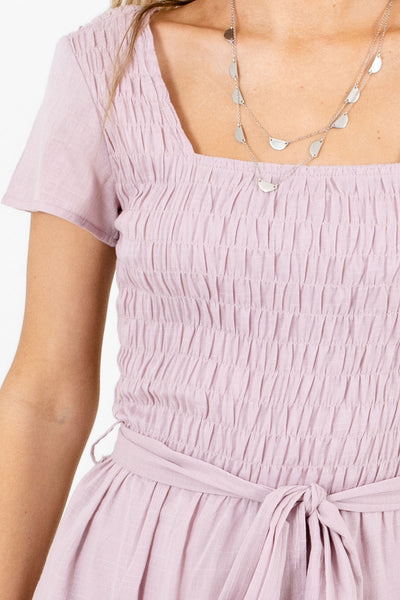 Lavender Purple Affordable Online Boutique Clothing for Women
