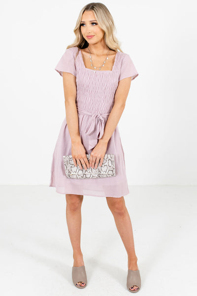 Women's Lavender Spring and Summertime Boutique Clothing