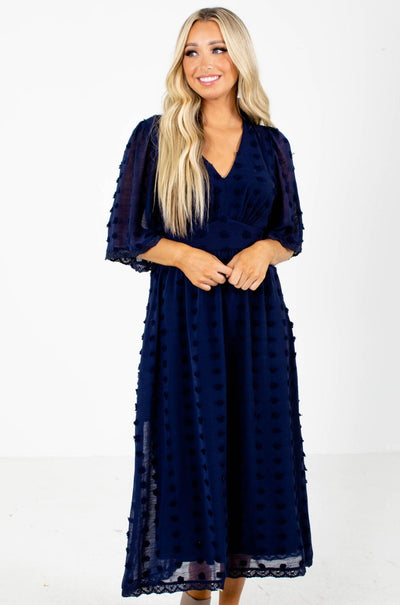 Navy Boutique Dress for Women