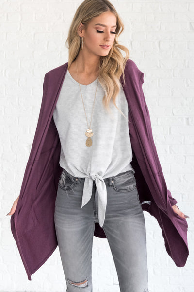 Purple Womens Affordable Online Boutique Clothing