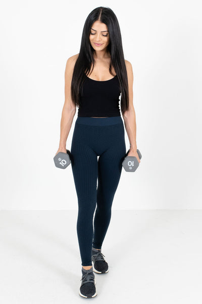 Women's Casual Everyday Boutique Navy Active Leggings