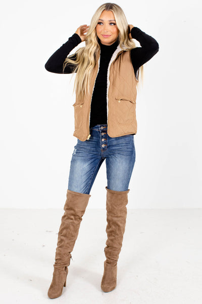 Women's Camel Fall and Winter Boutique Clothing