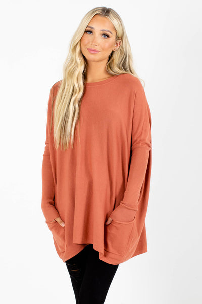 Pink Cute and Comfortable Boutique Sweaters for Women