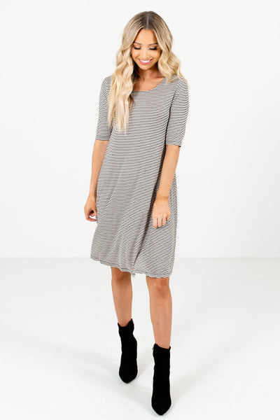Black Cute and Comfortable Boutique Dresses for Women