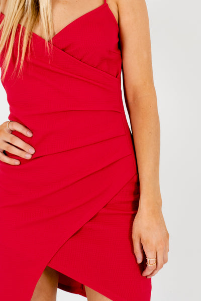 Red Boutique Party Dresses and Mini Dresses for Women