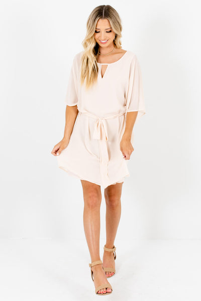 Women's Cream Spring and Summertime Boutique Clothing