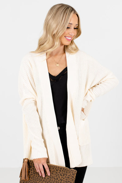 Women's Cream Boutique Outerwear for Women