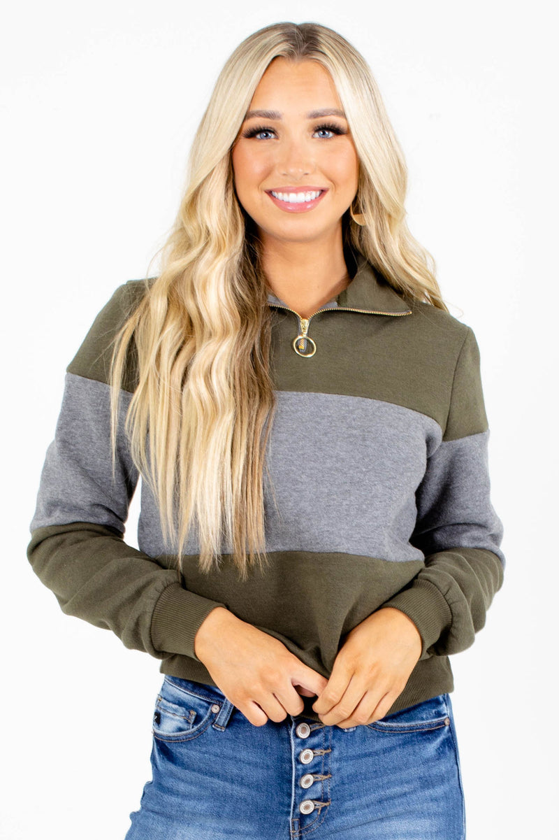 Old Sport Color Block Pullover