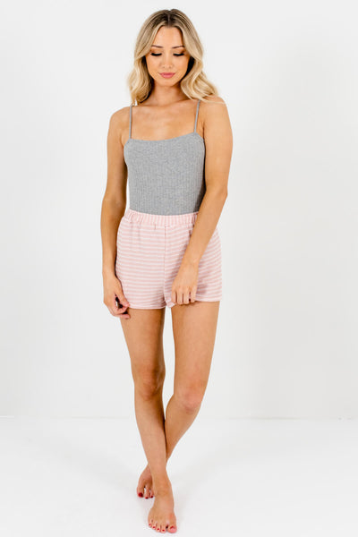 Pink Cute and Comfortable Boutique Shorts for Women