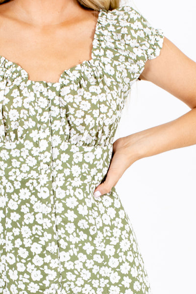 Palm Beach Paradise Floral Midi Dress