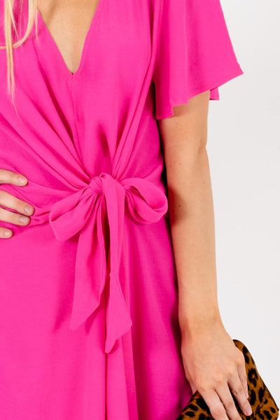 Fuchsia Pink Affordable Online Boutique Clothing for Women