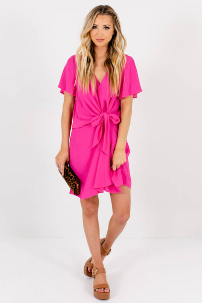Women's Fuchsia Pink Spring and Summertime Boutique Clothing