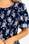 Navy Affordable Online Boutique Clothing for Women