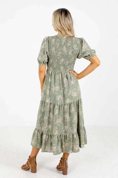 Green Cute and Comfortable Boutique Dresses for Women
