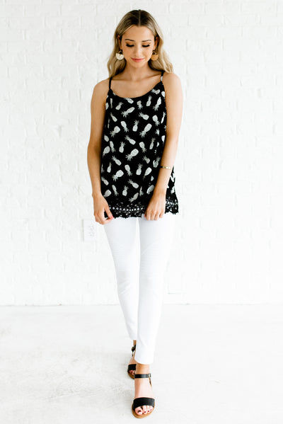 Black and White Women's Spring and Summertime Boutique Clothing