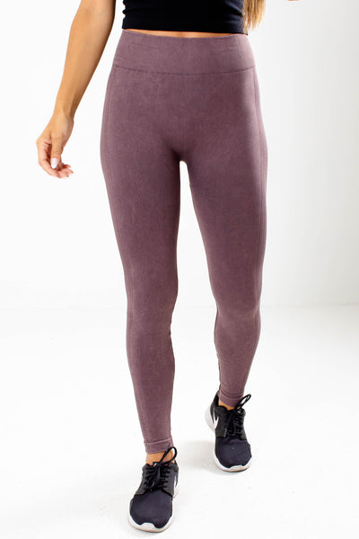 Purple High Quality Boutique Active Leggings for Women