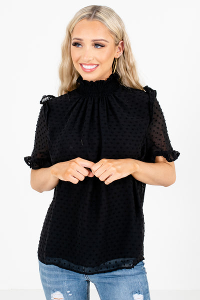 Black Affordable Online Boutique Clothing for Women, business casual