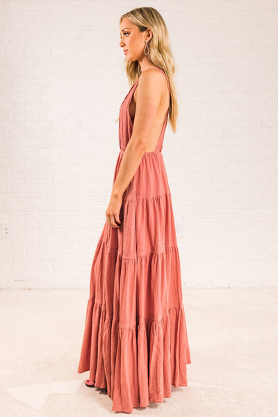 Women's Dark Pink Spring and Summertime Boutique Clothing