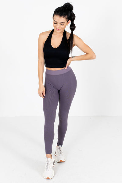 Women's Purple Workout Activewear Boutique