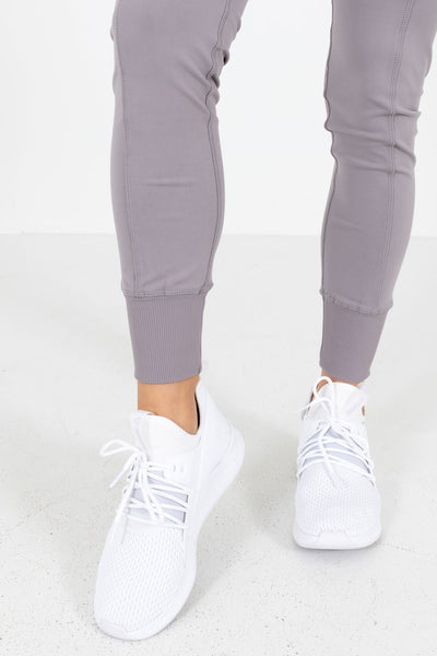 Dusty Purple Cute and Comfortable Boutique Active Jogger Leggings for Women