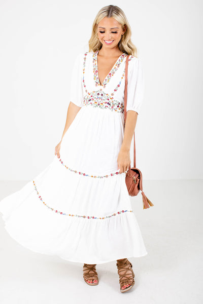 Women's Fully Lined Boutique Maxi Dress