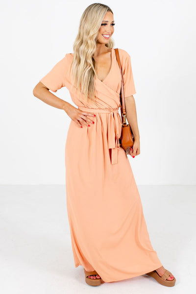 Pink Cute and Comfortable Boutique Maxi Dresses for Women
