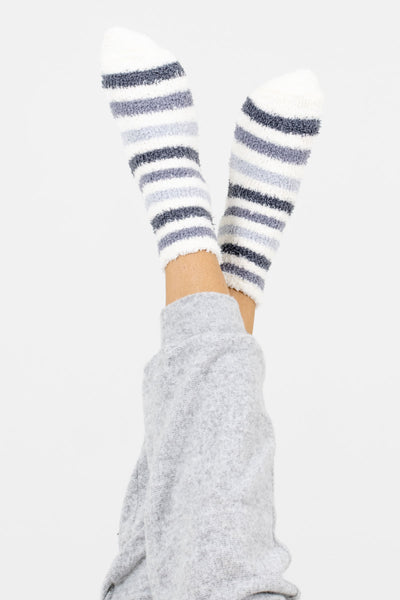 Women's Gray Cute and Comfortable Boutique Socks