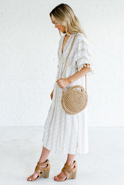 White Spring and Summertime Boutique Clothing for Women