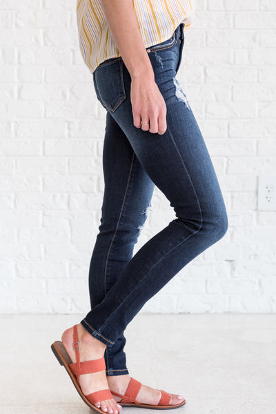 Boutique Jeans with Front and Back Pockets