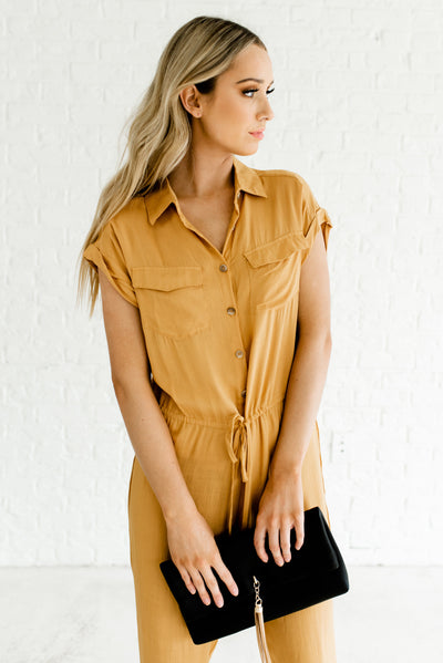Trendy and Stylish Boutique Utility Style Women's Romper