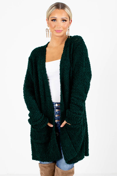 Green Boutique Outerwear for Women