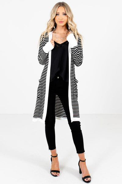 Black Cute and Comfortable Boutique Cardigans for Women