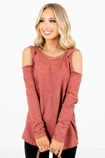 Women's Pink High-Quality Material Boutique Top