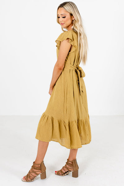 Set Me Up Midi Dress