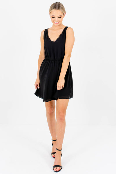 Women's Black Spring and Summertime Boutique Clothing