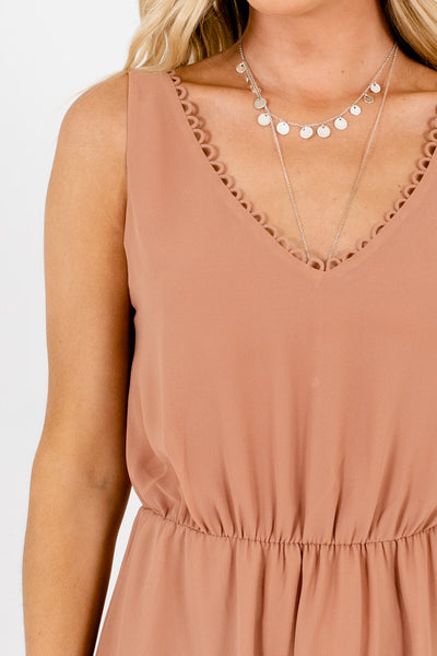 Muted Orange Affordable Online Boutique Clothing for Women