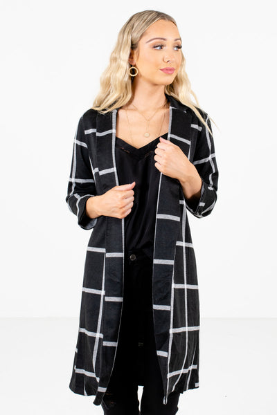 Women's Black Business Casual Boutique Blazer