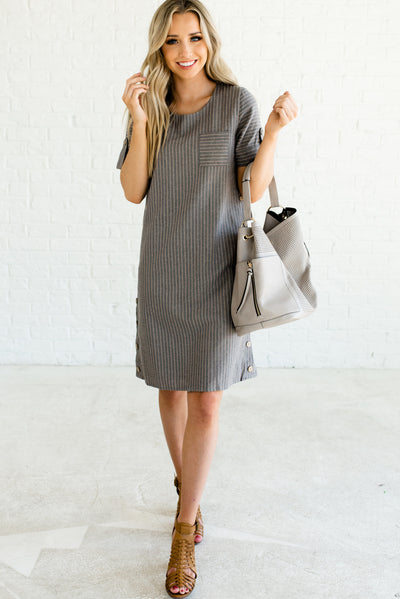Gray and Taupe Affordable Online Boutique Clothing for Women