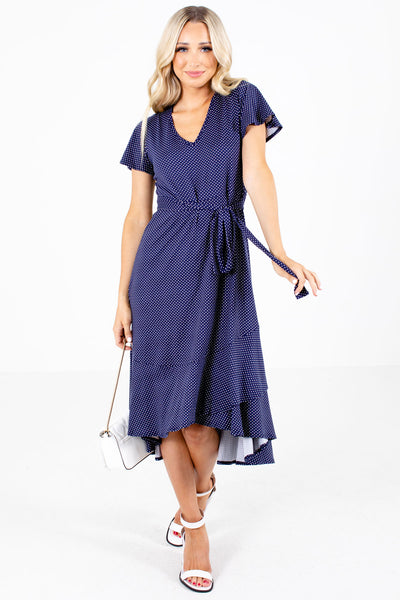 Navy Cute and Comfortable Boutique Dresses for Women