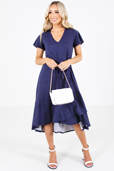 Women's Navy Spring and Summertime Boutique Clothing