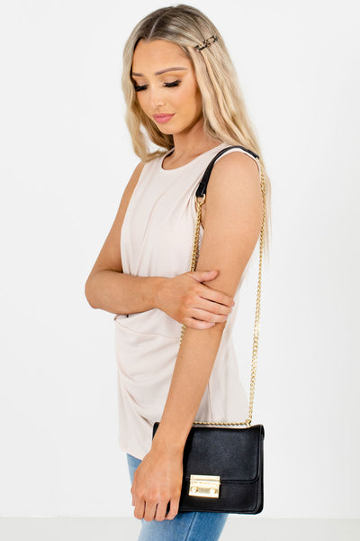 Cream Casual Everyday Boutique Tank Tops for Women