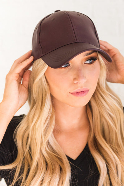 Dark Purple Cute Hats for Women